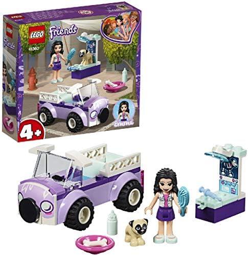LEGO Friends - Clínica Veterinaria Móvil de Emma, juguete imaginativo de construcción para aventuras de mascotas (41360): LEGO: Amazon.es: Juguetes y juegos