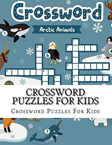 Crossword Puzzles For Kids: Large Print Jumbo Book of Crosswords for ...