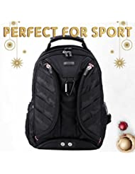 GYSSIEN Sports Backpack with Clothing Bag and Sturdy Reinforced Handle Perfect for Outdoor Activities Men&Women