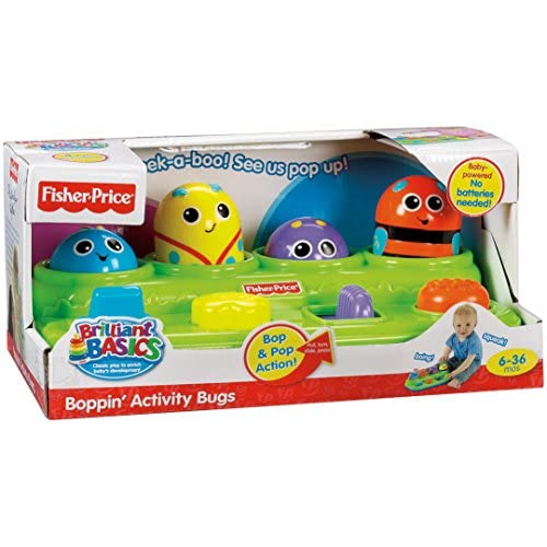 Fisher-Price Brilliant Basics Boppin' Activity Bugs [Amazon Exclusive]