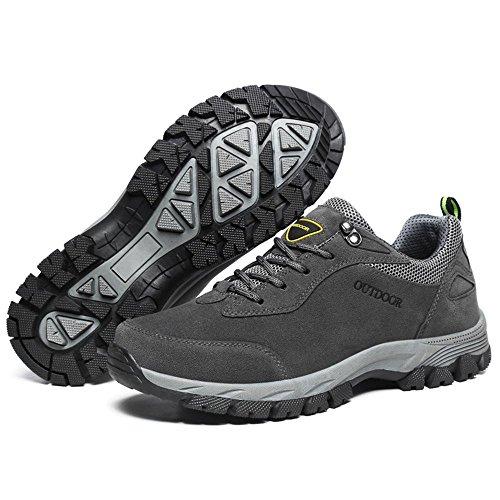 al Hombres atléticos para Gris Verano 2018 Zapatos Desgaste con Otoño Cordones Resistentes HUqAqSw