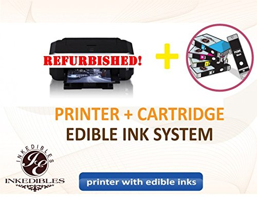YummyInks Brand YummyInks Brand Epson XP400 Bundled Printing System - REFURBISHED - includes printer and complete set of edible ink cartridges