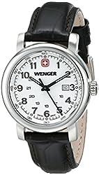 Wenger Women's 1021.101 Analog Display Swiss Quartz Brown Watch