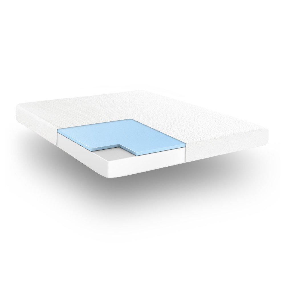 Twin XL 410106-1120 Classic Brands Cool Gel Memory Foam 6-Inch Mattress CertiPUR-US Certified