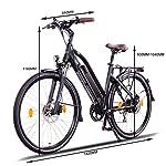NCM-Milano-Plus-Bicicletta-elettrica-da-Trekking-250W-Batteria-48V-16Ah-768Wh-26-Nero
