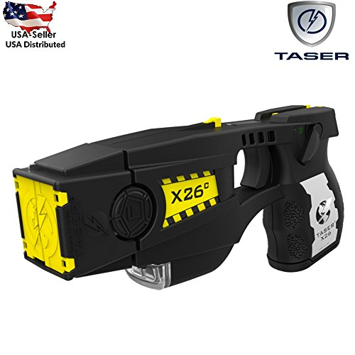 Taser X26C With Laser Light Including Six Cartridges and Holster Black by Taser