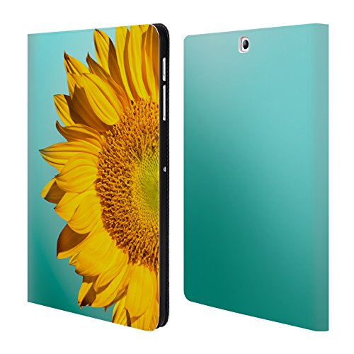 Official Mark Ashkenazi Sunflowers Florals Leather Book W...