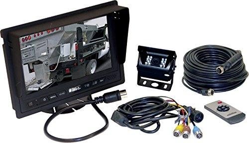 Buyers Products 8881200 Rear Observation Camera System with 7 In. LCD Color Display