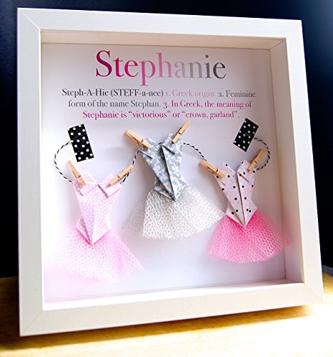 Paint paper craft buy paint paper craft products online in uae personalized name origin and meaning baby gift paper origami shadowbox frame with ballerina tutus custom newborn baby shower girl gift negle Gallery