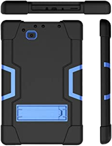 Cherrry for RCA 10 Viking Pro/Atlas10 Pro Case,Shockproof Rugged Impact Resistant Three Layer Full Body Protective Case Cover for RCA 10 Viking Pro(RCt6a03w13)/Atlas10 Pro(RCT6B06P23H)(Black/Blue)