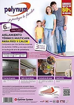 Kit de aislamiento para puertas de garaje Polynum Optim HOME 5 x 1,2 m