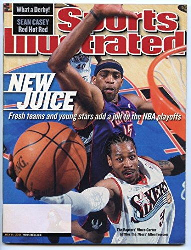 SI: Sports Illustrated May 14, 2001 New Juice: Vince Carter, Allen Iverson, VG