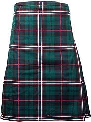 Mens Kilt Scottish National Tartan 8 Yard 24 Drop