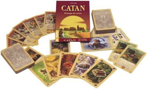 Catan Cartas Mini De Viaje: Amazon.es: Juguetes y juegos