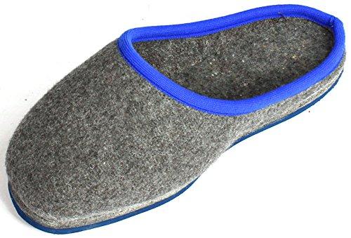 Pantoffelmann Überpantoffel - Zapatillas de estar por casa para hombre gris