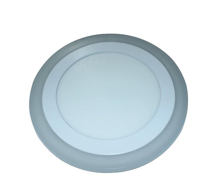 Quma 18 Watt 3 -In-1 Round Down Light - (1 Piece, White)