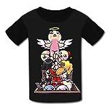 Mtui10 Custom Kids Binding-of-Isaac Dilly Tee Shirt T-Shirts for Children Boys Girls XL