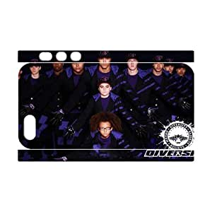 3D Print Britain's Got Talent 2009 Winner&Diversity Theme Case Cover for iPhone 5/5S- Personalized Hard Cell Phone Back Protective Case Shell-Perfect as gift