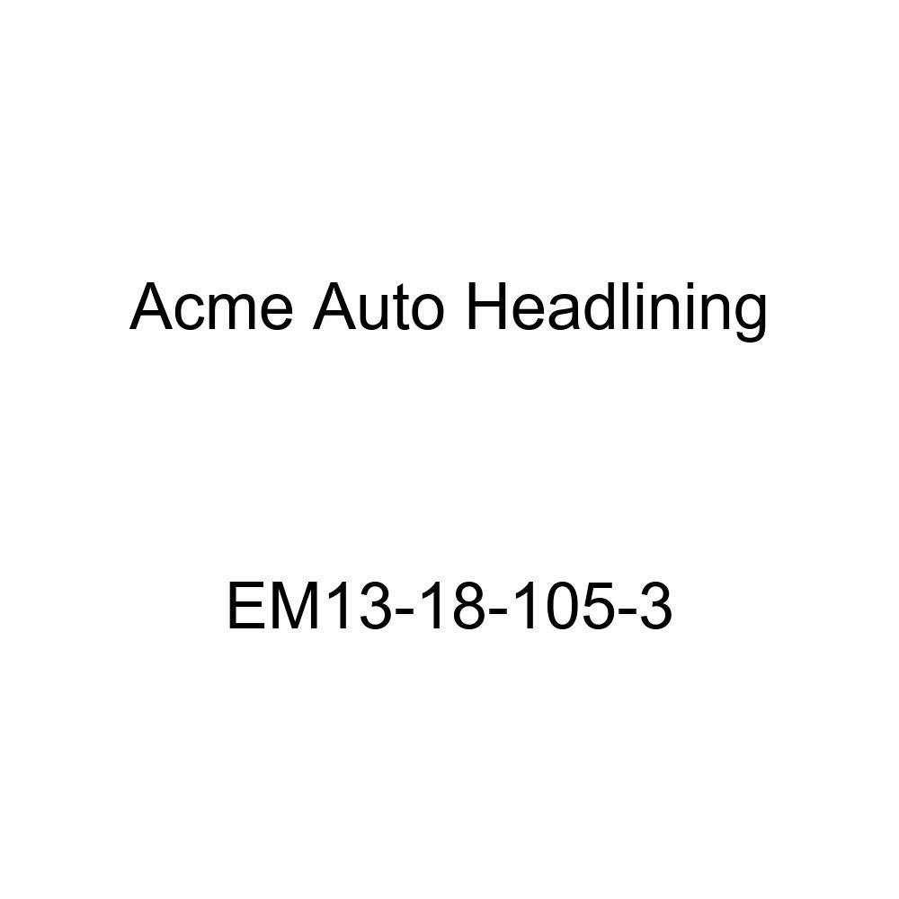 1939-40 Cadillac Series 60, 61, 62, 72, 75, 90 4 Door Limousine Acme Auto Headlining EM13-18-105-3 Medium Blue Replacement Headliner