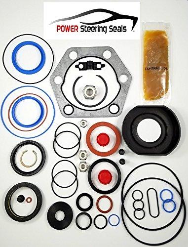 (Power Steering Seals - Power Steering Gear Seal Kit for TRW HFB64)