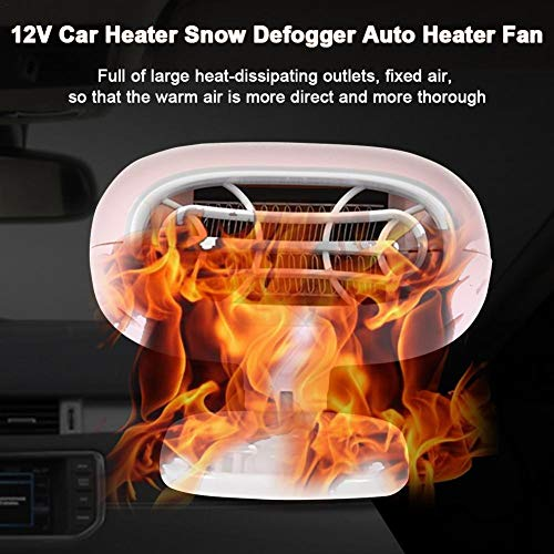 pegtopone Car Heater Defroster, Portable 12V Car Heater Air Purifier Automobile Heater Snow Defogger Warmer Quickly Heating Auto Heater Fan For Easy Snow Removal: Kitchen & Home