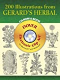 200 Illustrations from Gerard's Herbal (Dover Electronic Clip Art)