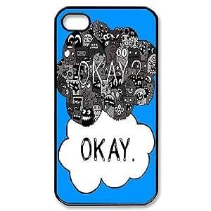ALICASE Diy Customized hard Case Okay Okay For Iphone 4/4s [Pattern-1]