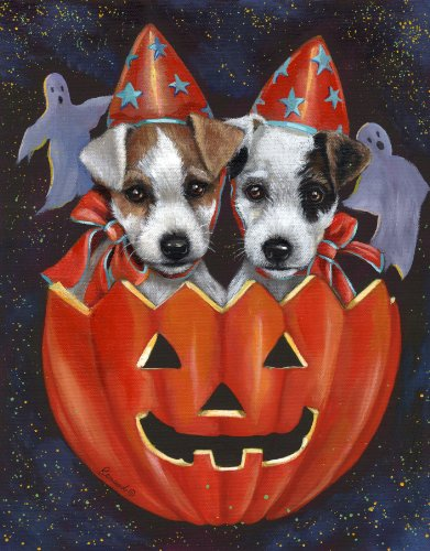 Jack Russell Halloween-LF (Halloween Jack Russell)