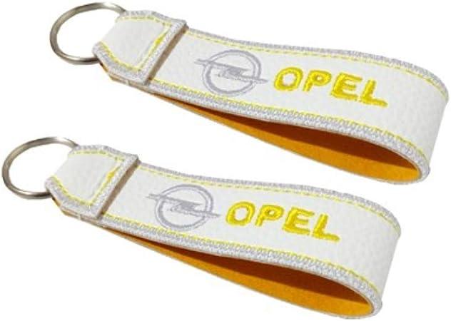Opel Doppelseitiger Schlüsselband Weiss 1 Stück Auto
