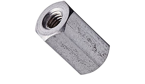 6mm OD 22mm Length, Pack of 10 Stainless Steel M3-0.5 Screw Size Female Hex Standoff