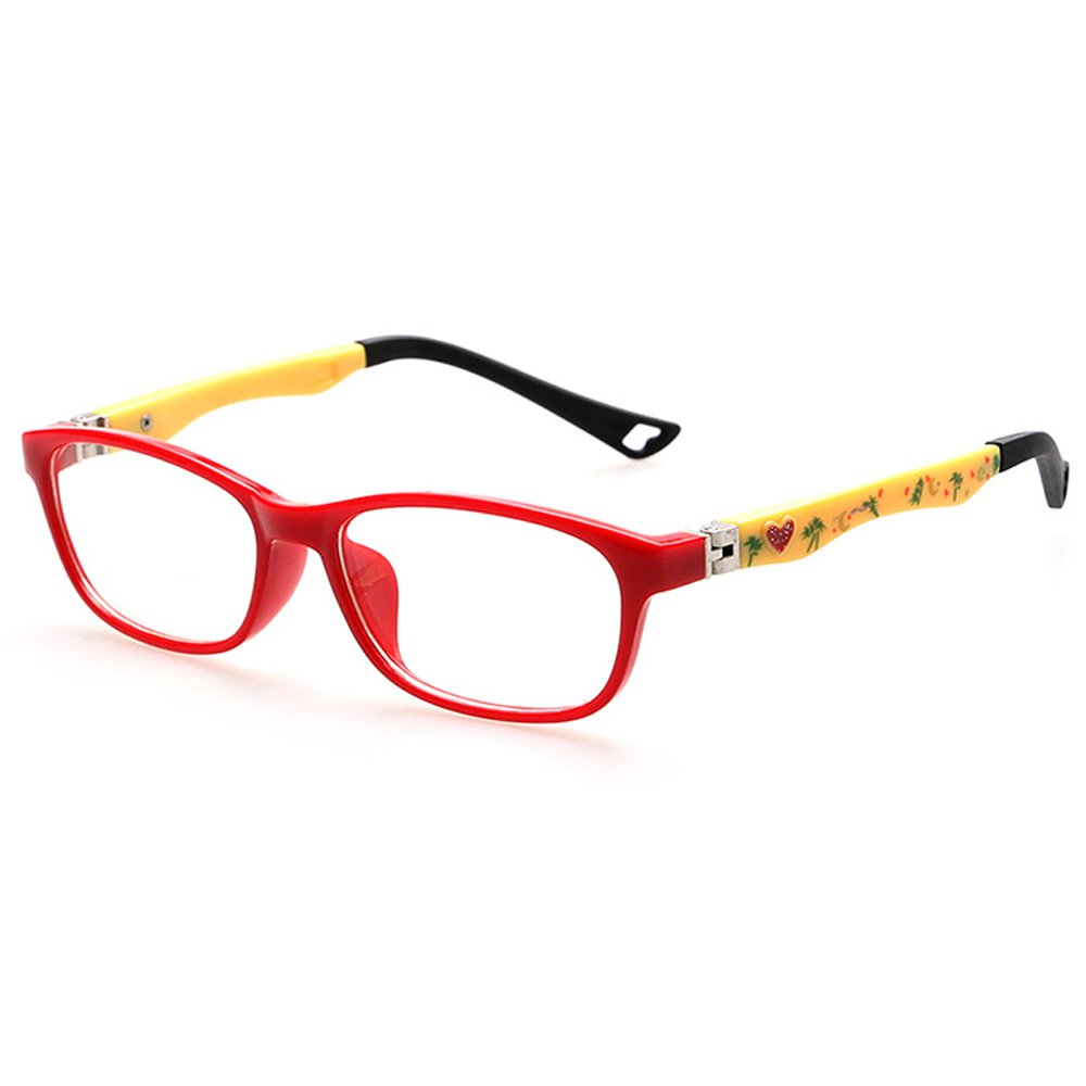 Fantia TR90 Optical Frame Glasses Cute Kids Eyeglasses (c1)