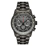 Citizen Nighthawk Grey Dial Stainless Steel Men's Watch CA4377-53H