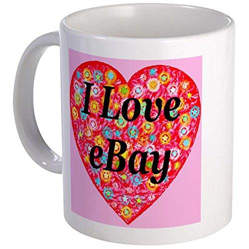 CafePress - I Love Ebay Mug - Unique Coffee Mug, Coffee Cup