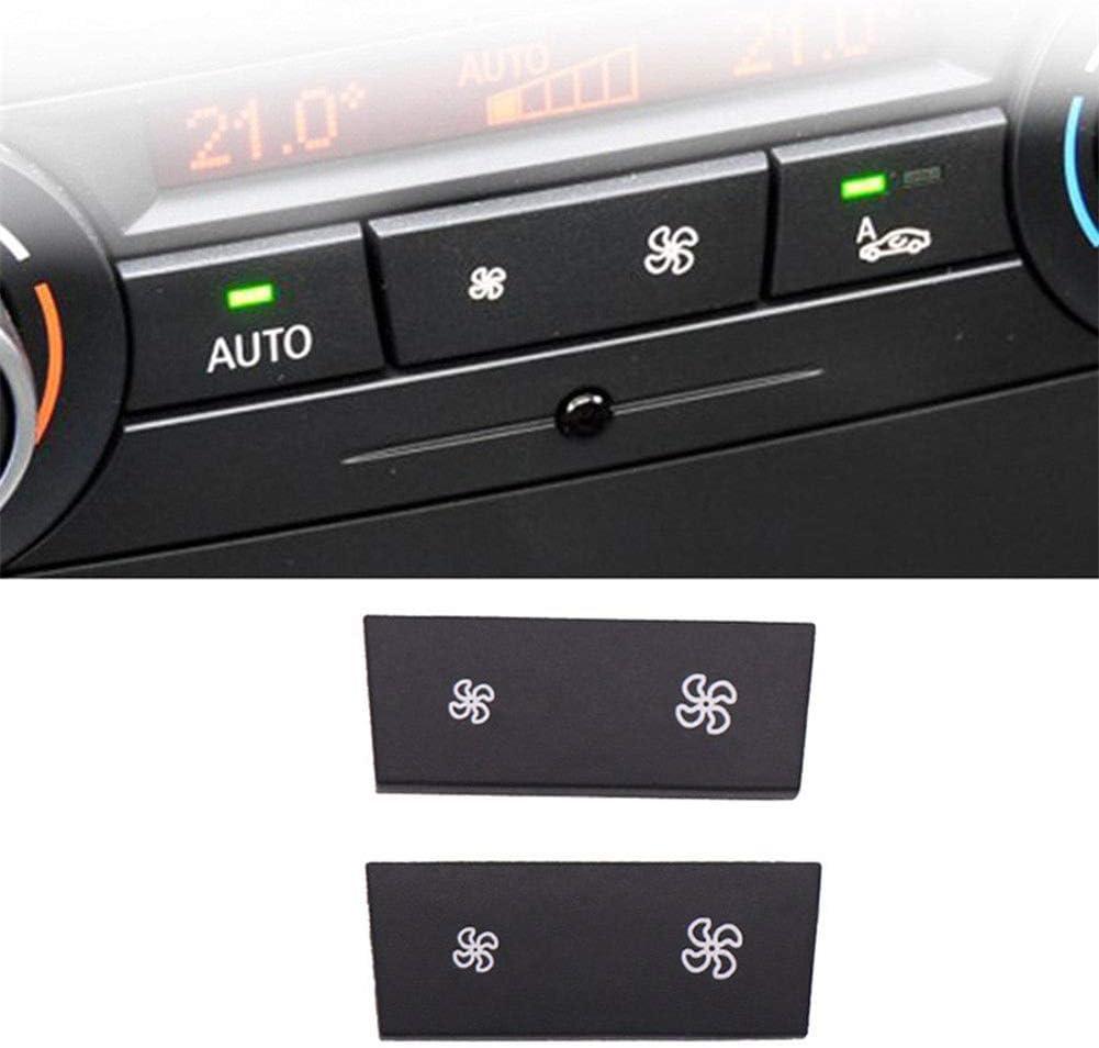 Boyfriend Cardig A//C Climate Control Panel Fan Speed Button Replacement for 1 Series E81 //E87 LCI E88// E82 3 Series E90 E91 E92 E93
