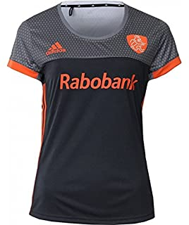 7d5e3c48626 adidas Official KNHB Netherlands Replica Womens Hockey World Cup 2018 Away  Jersey Top Tee Shirt