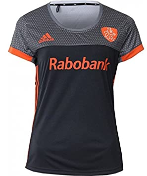 0ae1fdc73 adidas Official KNHB Netherlands Replica Womens Hockey World Cup 2018 Away  Jersey Top Tee Shirt (