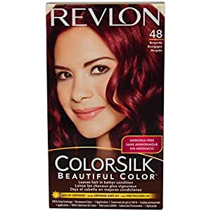Revlon Colorsilk Beautiful Color, Burgundy 48