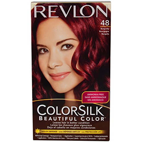 Revlon Colorsilk Beautiful Color, Burgundy 48