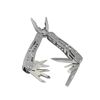 Multitool 12 In 1 Pocket Multi Tool Plier Knife Kit Heavy Duty