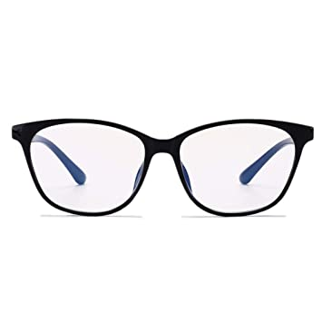 66ef95e72c Image Unavailable. Image not available for. Color  Blue Light Blocking  Glasses Vintage Computer Filter Eyeglasses ...