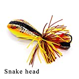 Best Zoom Bait Topwater Lures - 1Pcs Popper Frog Fishing Lures 90mm/10g Hard Bass Review