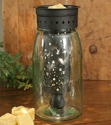 (CTW Home Collection Quart Mason Jar Wax Warmer with Starry Sky Pattern)