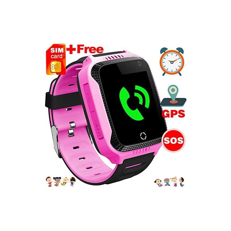 [Free SIM Card] Kid Smart Watch GPS Trac