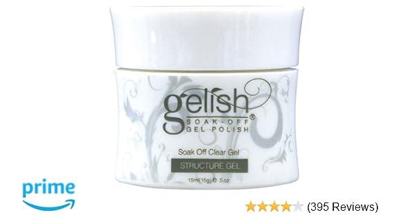 Gelish Soak Off Gel Nail Polish Structure Gel, 0 5 Ounce