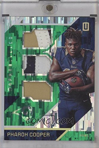Football NFL 2016 Unparalleled RPS Rookie Materials Triple Prime #26 Pharoh Cooper MEM /10 LA Rams by unparalleled