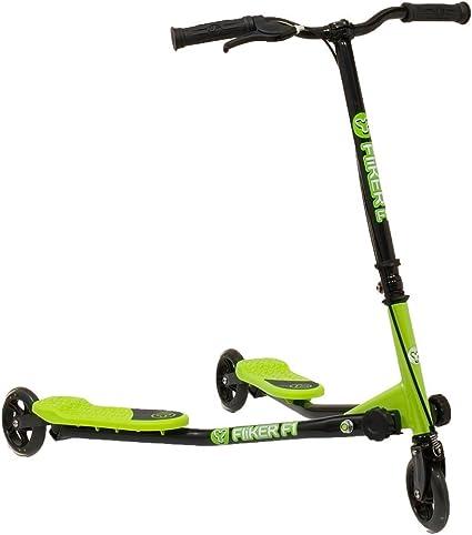 Amazon.com: y-volution yfliker F1 – Patinete, color verde y ...