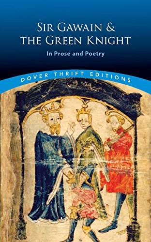 Sir gawain and the green knight in prose and poetry dover thrift sir gawain and the green knight in prose and poetry dover thrift editions kindle edition by jessie l weston religion spirituality kindle ebooks fandeluxe Gallery
