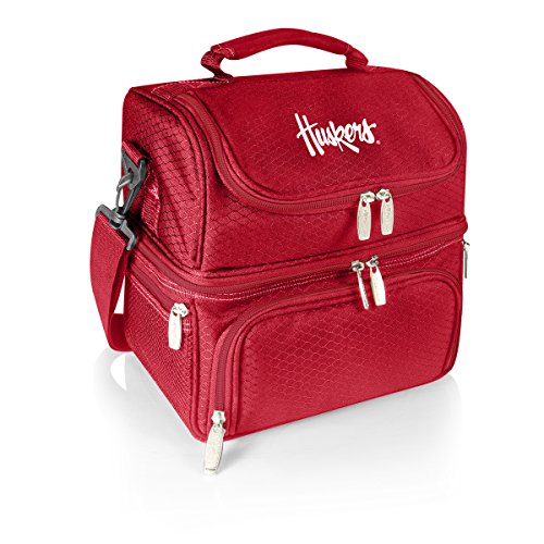 NCAA Nebraska Cornhuskers Pranzo Insulated Lunch Tote, Red