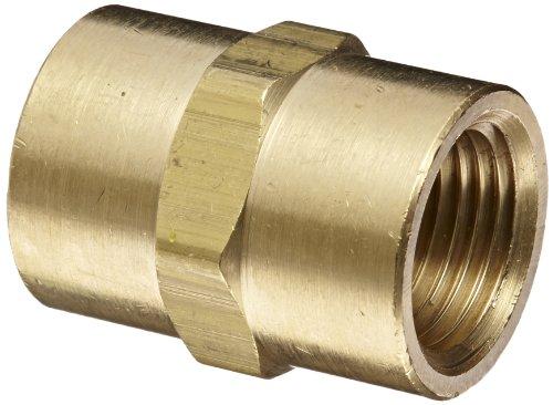 Dixon Valve BA4F4F Brass Fitting, Hex Coupling, 1/2