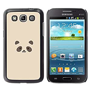 A-type Arte & diseño plástico duro Fundas Cover Cubre Hard Case Cover para Samsung Galaxy Win I8550 (Linda cara de la panda)